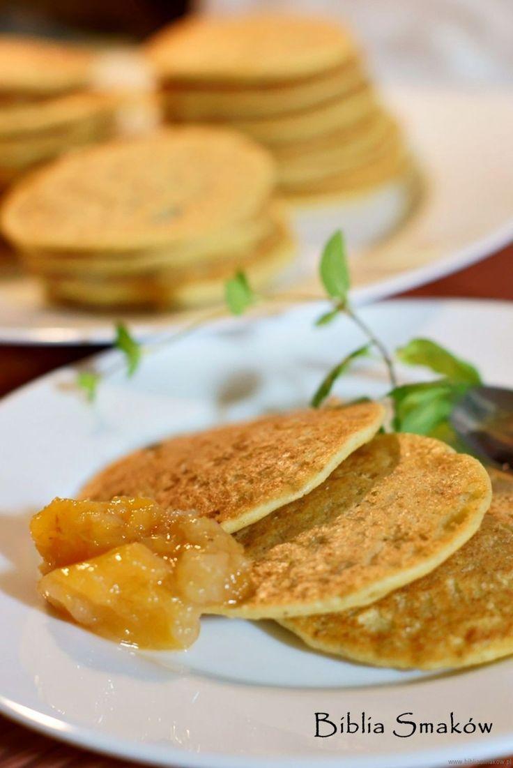 Przepis na Mini-naleśniki z kaszy jaglanej | Śniadania | Biblia Smaków