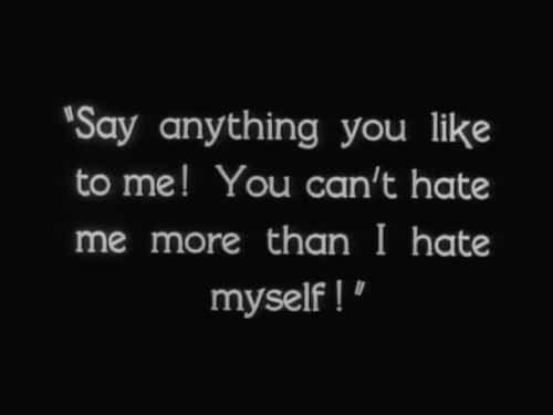 Aww Girls Stop Hating Yourselfs! We All Have Our Problems