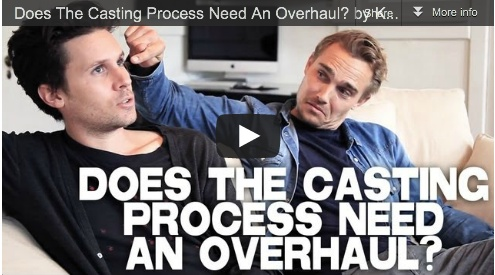 Does The Casting Process Need An Overhaul? by Kris Lemche & Joey Kern