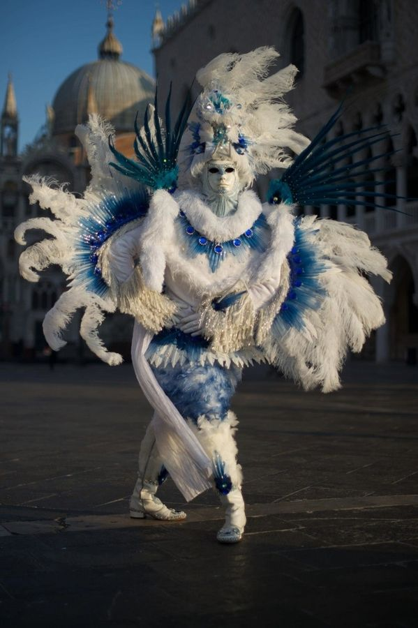 Photograph Venice Carnival 2012 by Adrian Lines