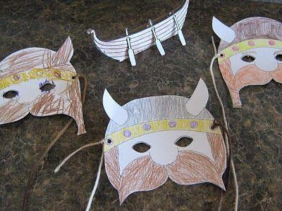 Almost Unschoolers: Viking Craft Fun | Vikings | Pinterest | Vikings and Craft