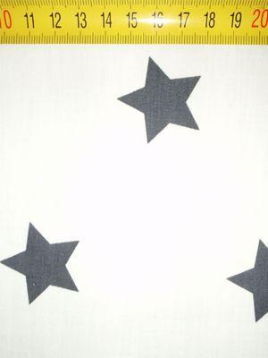 1341 stars wit-grijs XL