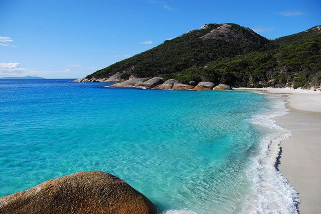 Albany, Western Australia has some beautiful beaches!