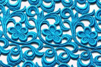 Vintage Lace - Turquoise