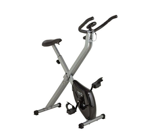 Buy Opti Folding Magnetic Exercise Bike Exercise Bikes Biking