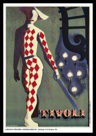 Erik Nordgreen - Tivoli plakat 1945