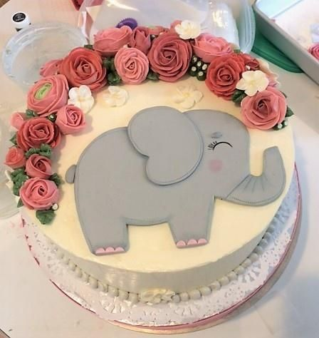 Best 10+ Elephant Cakes Ideas On Pinterest | Elephant Baby Shower Cake, Baby  Elephant Cake And Baby 1st Birthday Cake