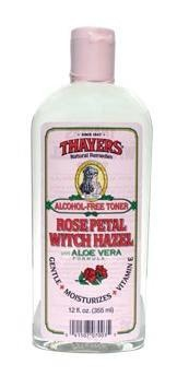 Thayers Rose Petal Witch Hazel.  This is my all time favorite toner.