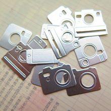 Argento Fotocamere Carta Cards Spessa per DIY Scrapbooking/Card Making/Bambini…