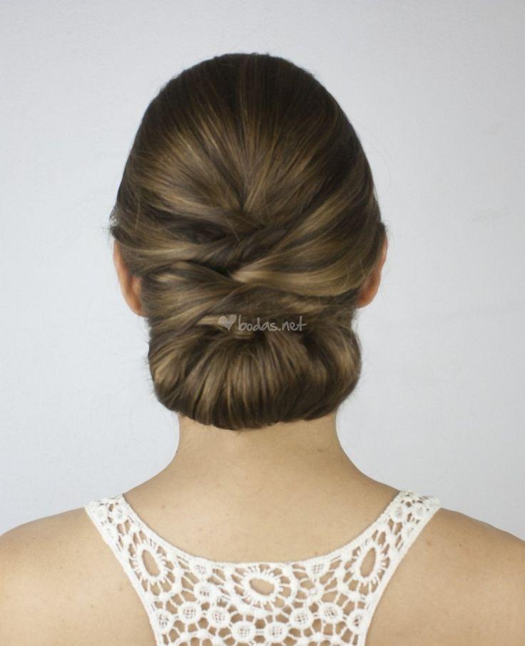 Las 25 mejores ideas sobre mo os bajos de boda en - Peinados monos modernos ...