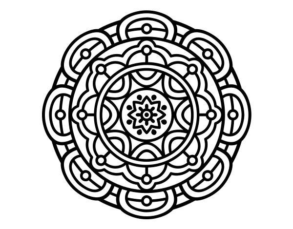 59 best Dibujos de Mandalas para colorear images on Pinterest ...