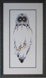 http://www.walkerworks.ca/walkerworks-picture-framing/owl-takes-flight-in-funky-moulding