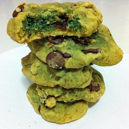 Gooey Green Crack Cookies