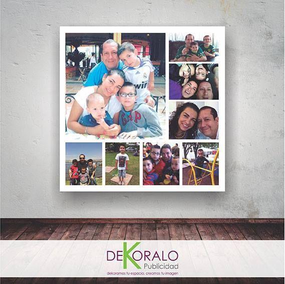 Imprimimos tus recuerdos para regalar a pap cuadros - Cuadros para ninos personalizados ...