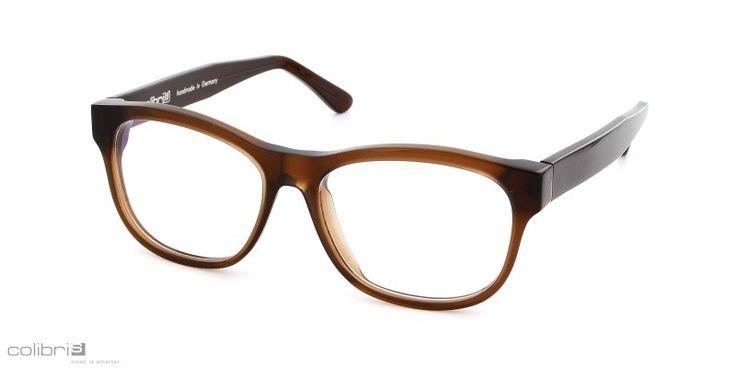 Brillen von Colibris für schmale Gesichter gibt es in großer Material (Acetat,Edelstahl) Form und Farb Auswahl bei der Augenweide in Köln. colibris - small is smarter: Modell Gerda, coffee