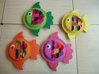 Vis van bordjes