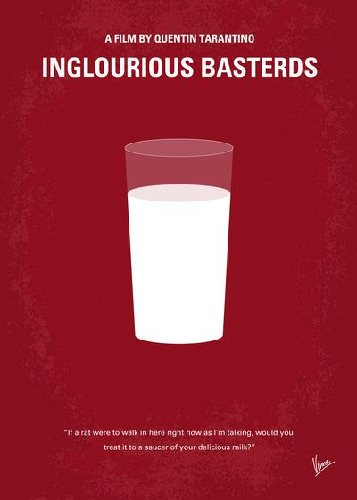 #InglouriousBasterds #Chungkong #Minimal #movie #alternative #illustration #graphic #film #poster #design