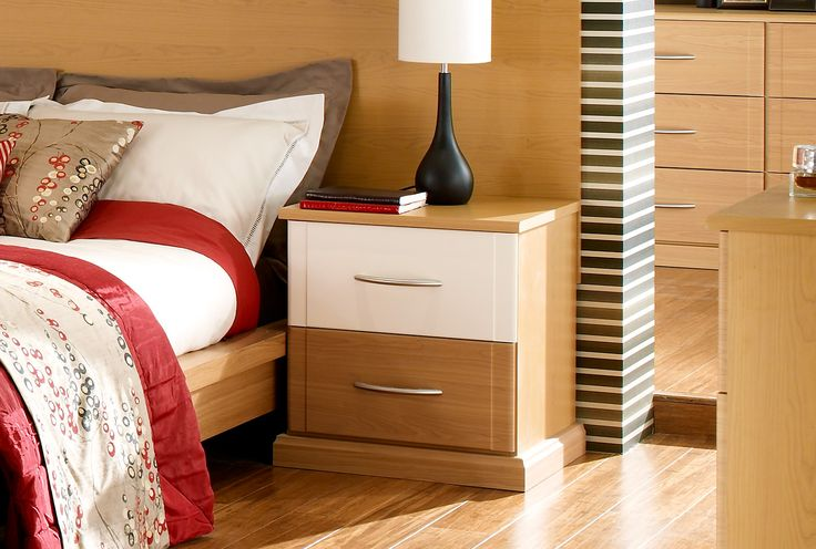 cream and brown fitted bedroom furniture can make a room look modern