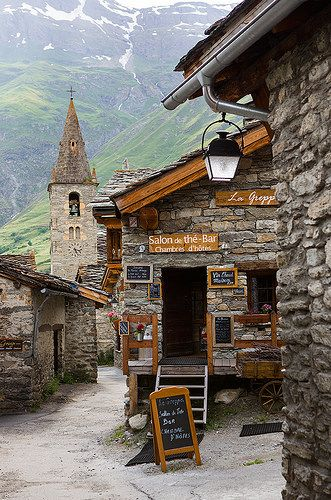 Medieval Village of Bonneval sur Arc, Rhone-Alpes