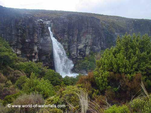 Taranaki Falls  Tongariro National Park, Manawatu-Wanganui, New Zealand