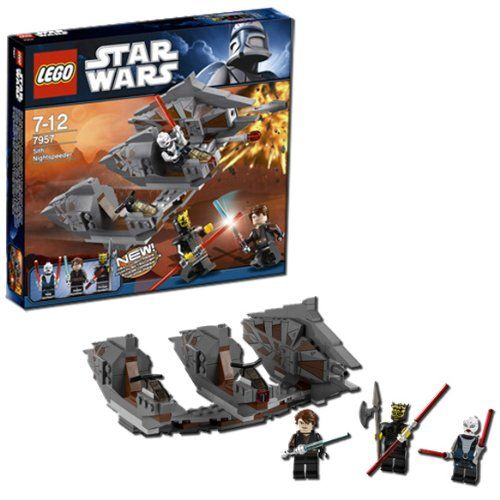 Amazon.com: LEGO Star Wars Sith Nightspeeder 7957: Toys & Games