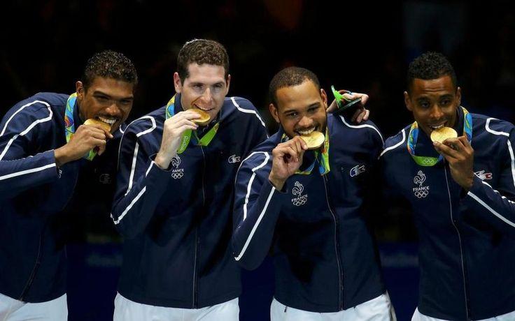 JO de Rio : une nouvelle médaille d'or pour les champions du 92 - Le Parisien
