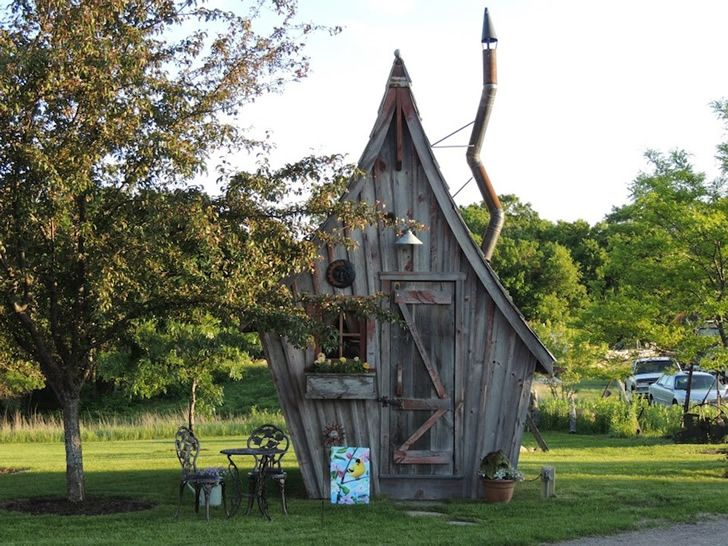 Resultado de imagen para diminuta casa de madera