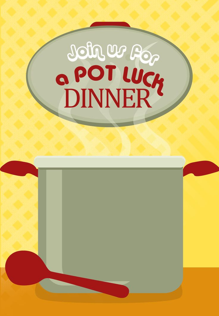 how to plan a potluck dinner