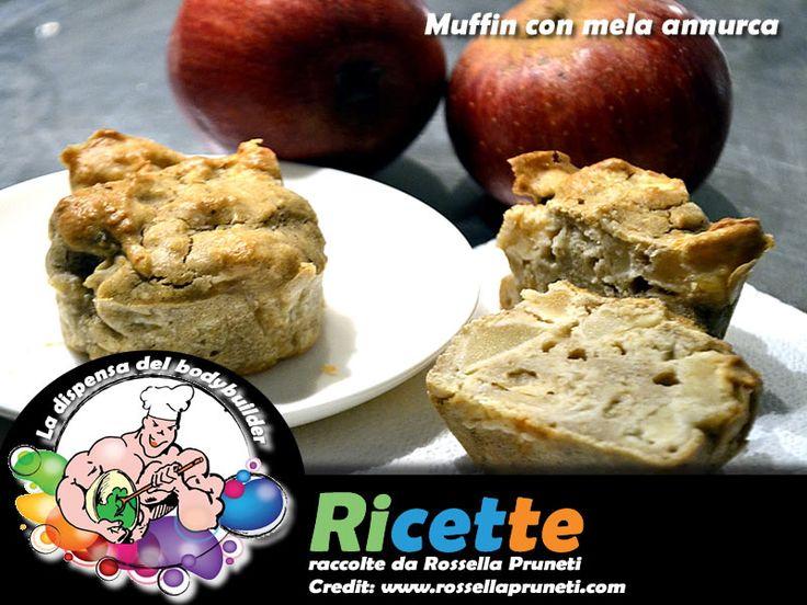Muffin con mela annurca