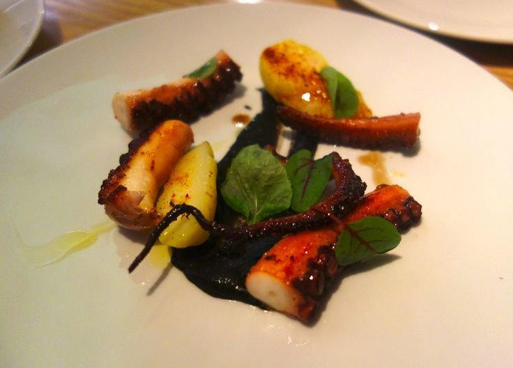 Octopus With Paprika Recipe — Dishmaps
