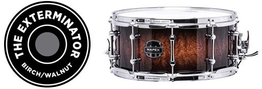 Mapex Drums - Choose Your Weapon with the Armory Series by Mapex: The Exterminator