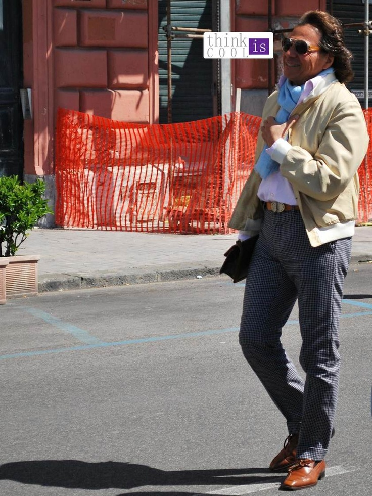 America's Cup #streetstyle - tailor fit made
