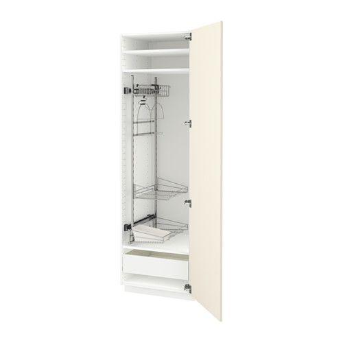 МЕТОД / ФОРВАРА Выс шк с отд д/акс д/убрк IKEA Ящик ФОРВАРА выдвигается на ¾ своей глубины и обеспечивает достаточно места для хранения.