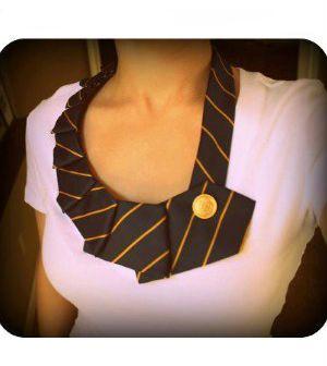 Como fazer um colar de gravata passo a passo
