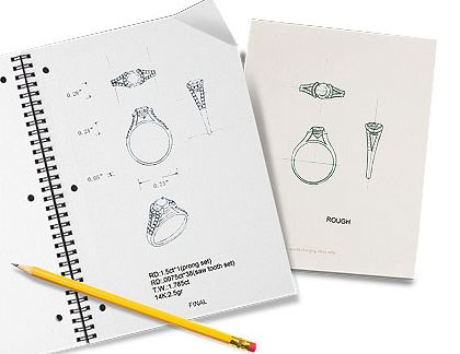 Image detail for custom jewelry design sketch of for Design di gioielli