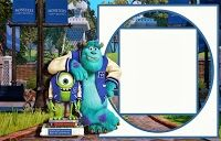 Free Printable Monsters University Invitations.