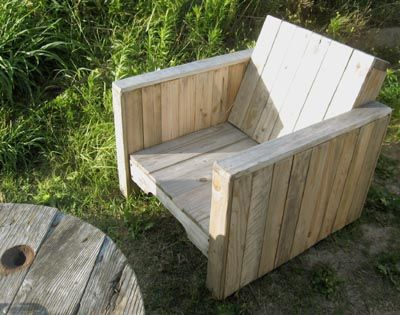 palette fauteuil cube....out of Pallets & i know where there are free ones.....hummmmm, hubby will not like this idea!