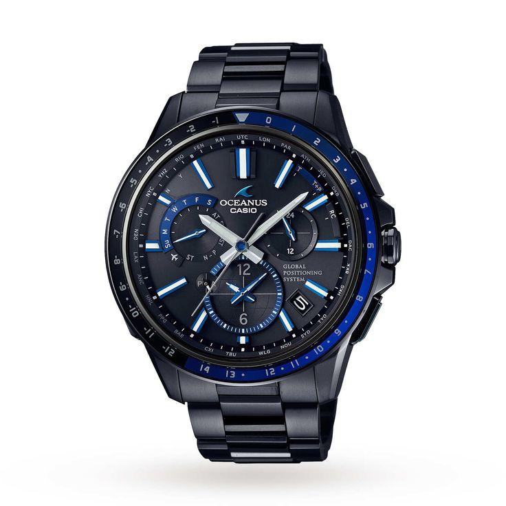 Mens Casio Oceans GPS Hybrid Alarm Watch OCW-G1100B-1AJF #Jewellery