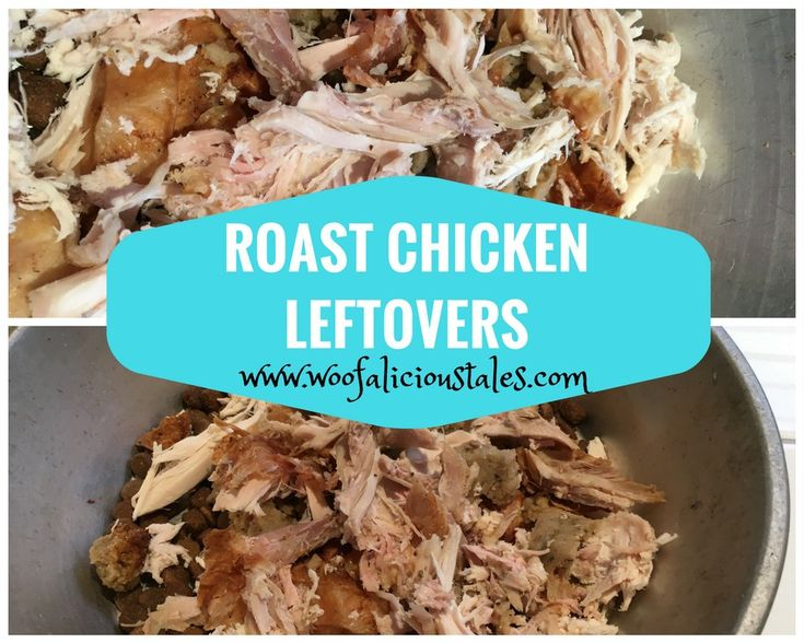 Roast Chicken Leftovers.