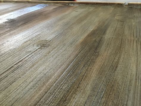 stained concrete floors that look like barn wood to get. Black Bedroom Furniture Sets. Home Design Ideas