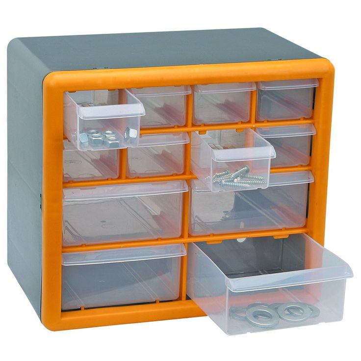 12 Drawer Storage Organizer - 226 Best Images About Tool Organization On Pinterest Hooks