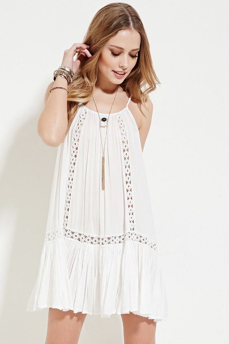 Boho Me Crocheted Cami Dress | Forever 21 - 2000187230