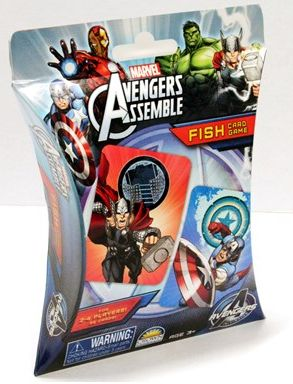 Avengers Go Fish! Card Game