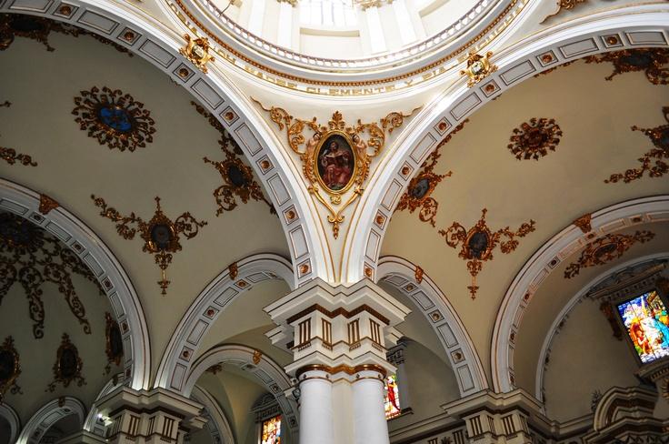 Colombia - Arcos Catedral de Chiquinquira, Boyaca.