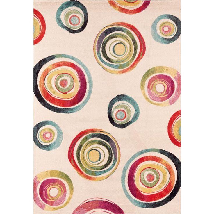 Modern design watercolour colour rug Capri V by Sitap at My Italian Living Ltd