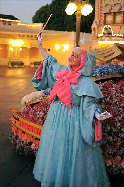 Fairy Godmother from Cinderella at Disney World