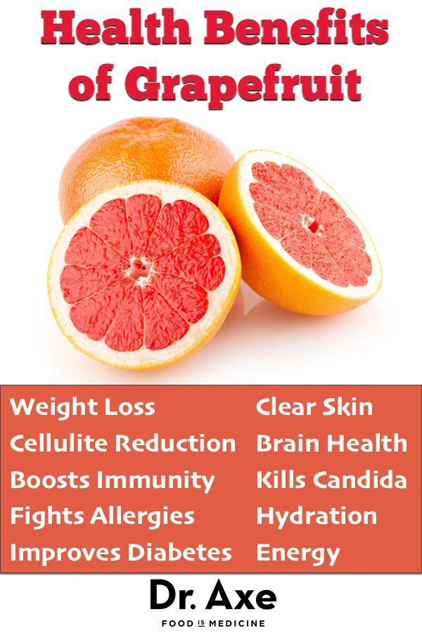 Grapefruit Benefits Weight Loss and Cleansing - DrAxe.com