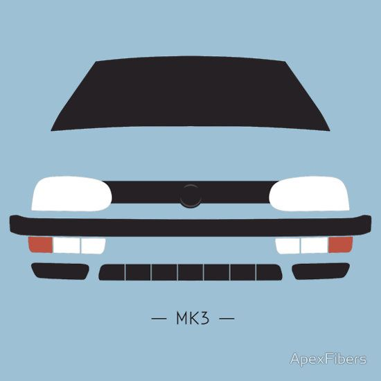 VW Golf MK3 simple front end design