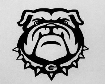 Image Result For Uga Bulldog Decal Cricut Ideas