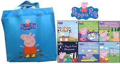 Book Collection | Rakuten.co.uk Shopping: Peppa Pig 10 Books Collection Set (Peppa Plays Football, Peppa Goes) With Bag  Peppa Pig 10 Books Collection Set (Peppa Plays Football, Peppa Goes) With Bag: Peppa-Pig-With-Bag-10-Books-Collection from Book Collection | Rakuten.co.uk Shopping